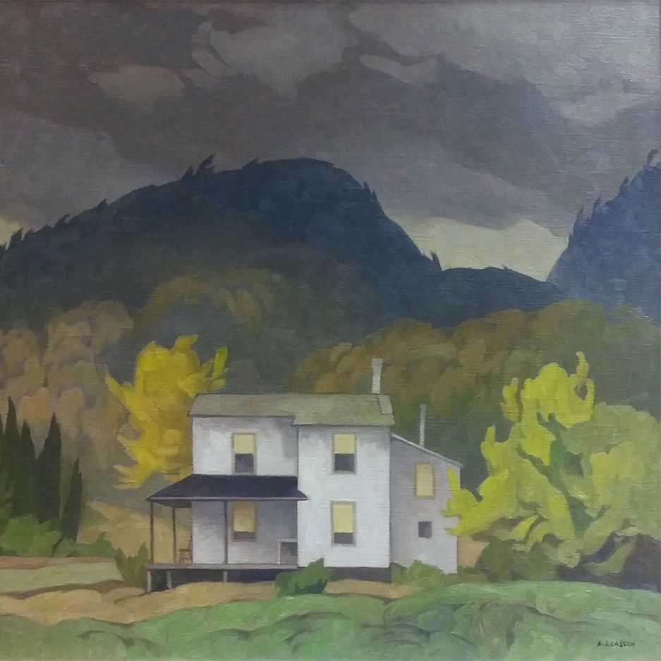 A.J. Casson Farmhouse in the Hills, Quebec