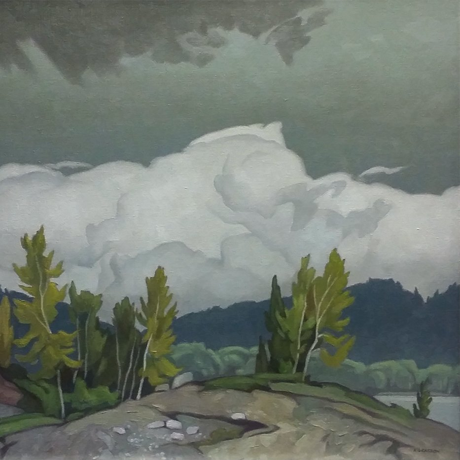 A.J. Casson Goose Lake Painting