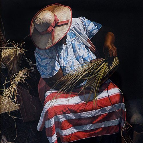 Terence Crawford The Basket Weaver Painting