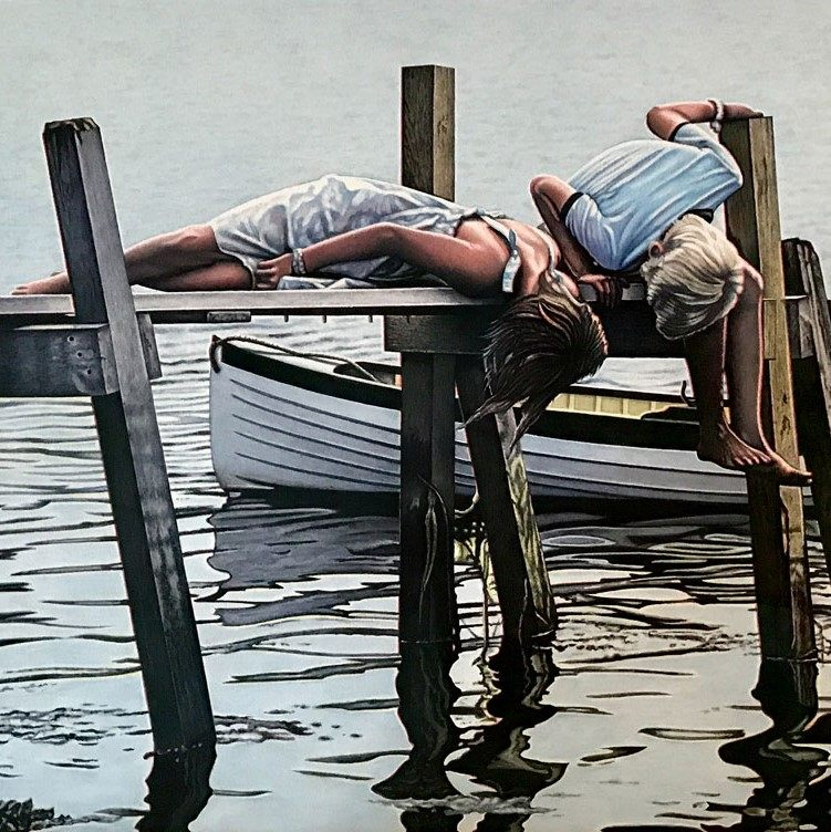 Terence Crawford What Lies Beneath Painting