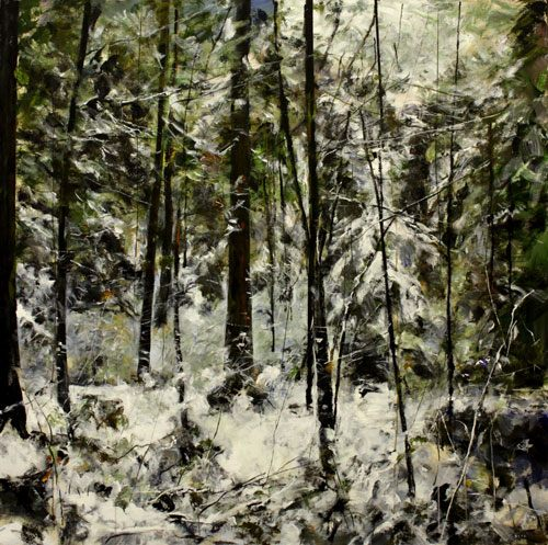 Gordon Smith Winter Forest A4 Painting