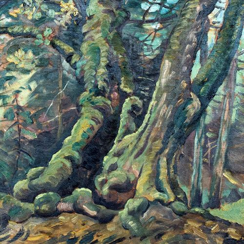 W.P. Weston Old Maples, Vancouver Painting